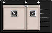 Кухонная мойка AquaSanita Delicia GQD 150 B-AW (111)