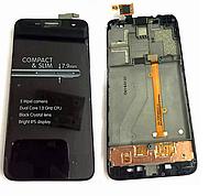 Дисплейный модуль для мобильного телефона Alcatel One Touch Idol Mini 6012 6012X 6012A 6012D 6012 Black