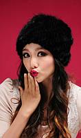 Женская норковая шапка, фото 3