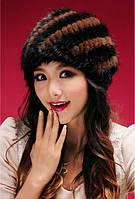 Женская норковая шапка, фото 4