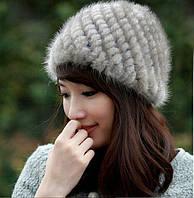Женская норковая шапка, фото 5