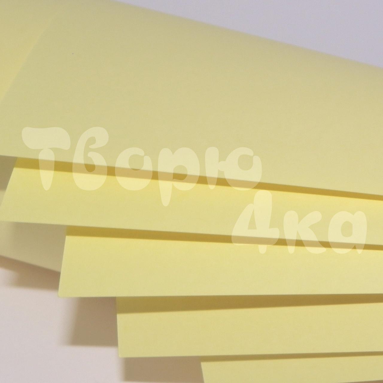 Бумага цветная А4 80 гр/м.кв light ivory (слоновая кость)