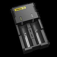 Зарядное устройство Nitecore Intellicharger i2 v.2 (2 канала)