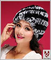 Женская меховая шапка. Натуральный мех, фото 2