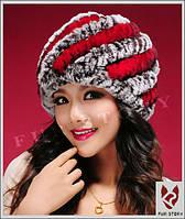 Женская меховая шапка. Натуральный мех, фото 4