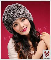 Женская меховая шапка. Натуральный мех, фото 5