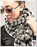 Женский меховой шарф. Натуральный мех.