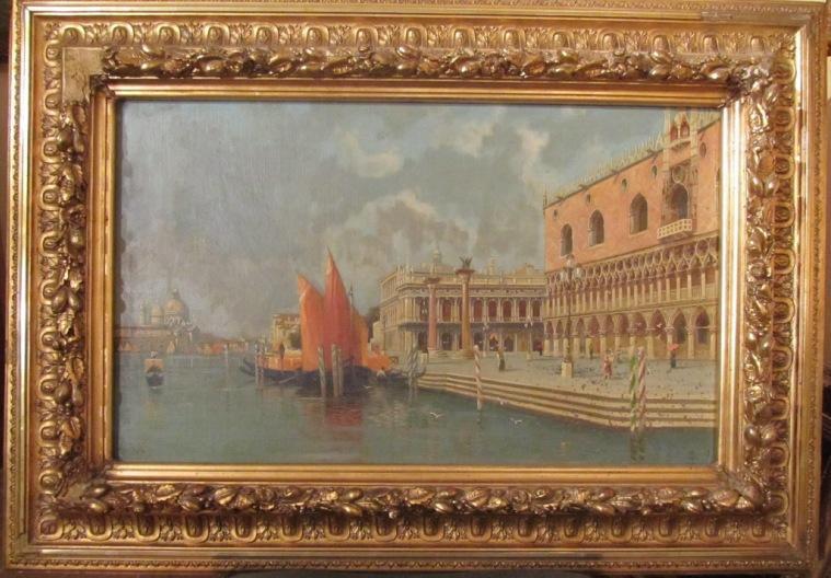 Картина Венеция C. Michels, нач ХХ-века