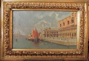 Картина Венеция C. Michels, нач ХХ-века, фото 2