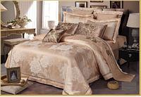 Комплект постельного белья жаккард евро Karven Delux Satin J-151 Eu