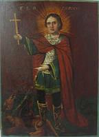 Икона Св. вмч. Никита 19 век
