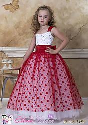 Детское нарядное платье № 14-107