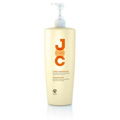 NEW Barex Joc Care Шампунь Глубокое восстановление с аргановым маслом и какао-бобами 1000 мл.
