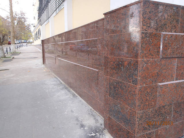 Облицовка фасада прокуратуры города Севастополя 3