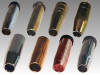 Сопла газовые для mig/mag горелок abicor binzel