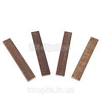 Текстолитовые пластины для масляных вакуумных насосов (95*16*4 мм)