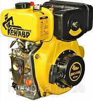 Двигатель Кентавр ДВС-300ДШЛЭ (электростартер, шлицы, 6 л.с., дизель), фото 1