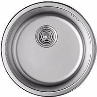 Кухонная мойка ULA HB 7102 ZS D440 satin