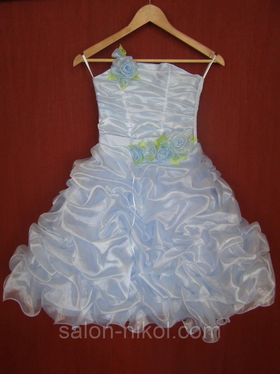 Детское нарядное платье № 18