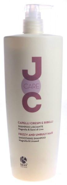 NEW Barex Joc Care Шампунь выпрямляющий для волос с маслом семян льна и магнолии 1000 мл.