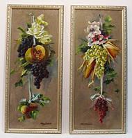 Картины пара натюрмортов. нач. XX-го века, Адальберт Сметана