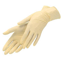 Перчатки латексные одноразовые 5,5г неопудренные (100 шт/уп)