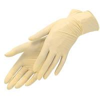 Перчатки латексные одноразовые не опудренные (100 шт/уп)