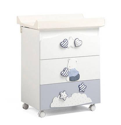 Комод-пеленатор с ванночкой MIBB Stella, фото 2