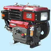 Двигатель Булат R190NЕ (дизель, 10,5 л.с., электростартер, водяное охлаждение)