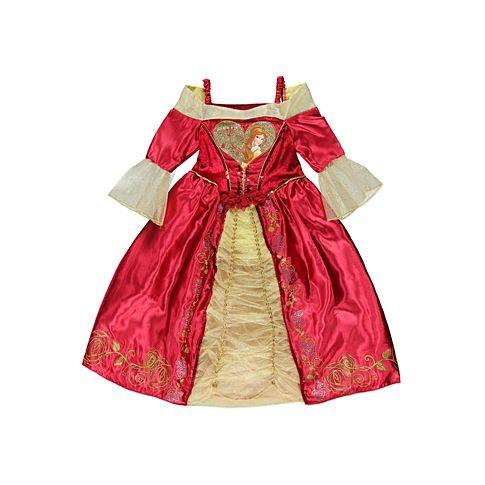 Платье на утренник в садик бальное платье Бель (Красавица и Чудовище)