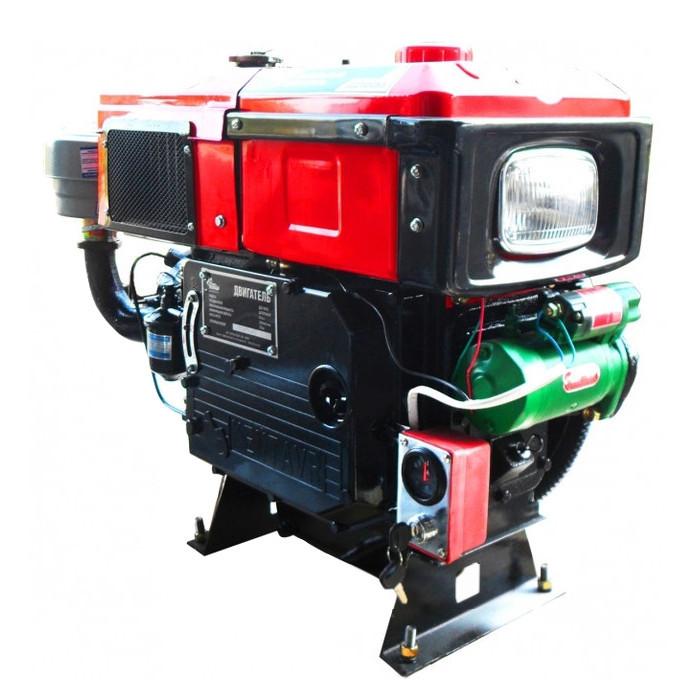 Двигатель Кентавр ДД1115ВЭ (24 л.с. дизель, электростартер)