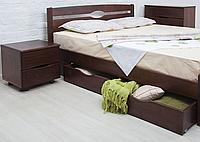 """Кровать  из массива """"Нова с ящиками"""""""