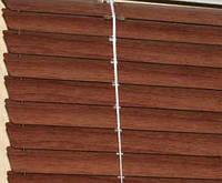 Жалюзи горизонтальные металлические Стандарт (под дерево / леопард), фото 1