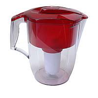 Фильтр для жесткой воды кувшин Аквафор Океан красный