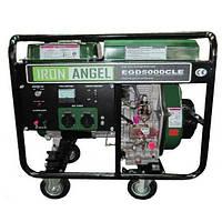 Генератор IRON ANGEL EGD 5000 CLE дизель (2,5 кВт, электростартер)