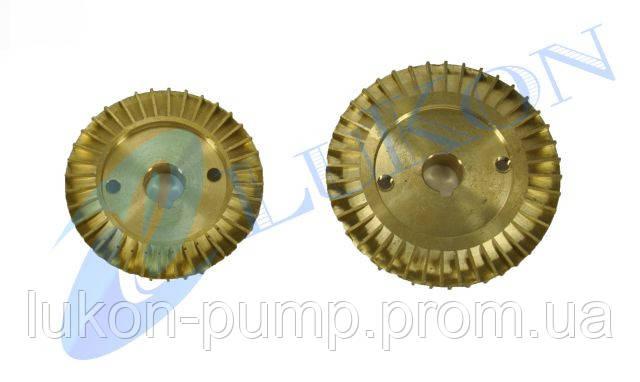Крыльчатка латунная для насоса SKM, фото 2