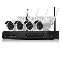 Комплект беспроводного ip (wifi) видеонаблюдения NHKIT UKC W-002