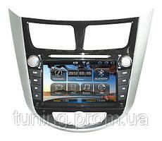 Штатная магнитола для Hyundai Accent 2011+ ОС: Андроид