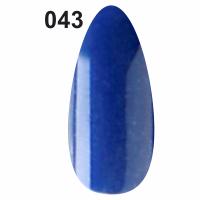 Гель-лак для ногтей Christian №043 (синий с мерцанием)