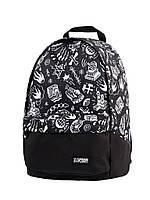 Спортивный городской рюкзак Mack BLK (рюкзаки молодежные, велосипедный рюкзак, рюкзаки городские)