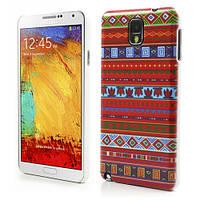 "Чехол накладка пластиковый на на Samsung Galaxy Note 3 N9000, ""Орнамент"""
