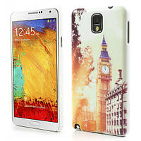 "Чехол накладка пластиковый на на Samsung Galaxy Note 3 N9000, ""Лондон"""