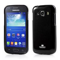 Чехол силиконовый на Samsung Galaxy Ace 3 S7270 / S7272 Mercury, черный