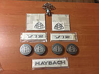 Комплект эмблем Maybach Mercedes W222