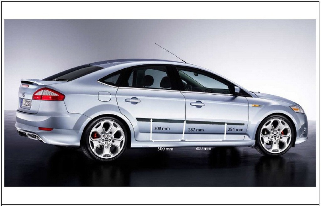 Молдинги на двери Ford Mondeo 2007-2014