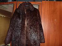 Женский полушубок из натурального меха нутрии с хорошим подпушком