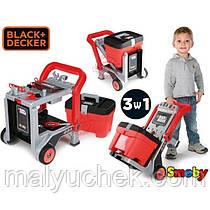 Майстерня Візок з інструментами іграшкова Black & decker Smoby 360202