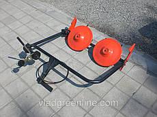 Косилка роторная ременная КР-01 ШИП кованые ножи (без ремня, для МБ с водяным охлаждением)