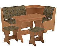 Кухонный уголок Марсель комплект (стол КС 3 раскладной+диван+2 табурета Т1)