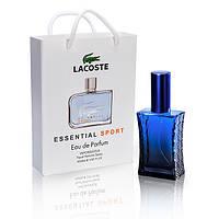 Lacoste Essential Sport Pour Homme (Лакост Эссеншиал Спорт Пур Хом) в подарочной упаковке 50 мл
